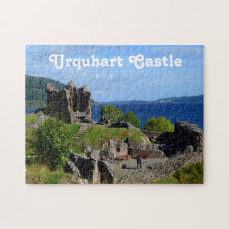 Scenic Urquhart Castle Ruins Jigsaw Puzzle