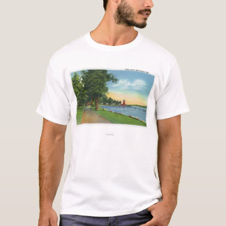 Scenic View along the Lake T-Shirt