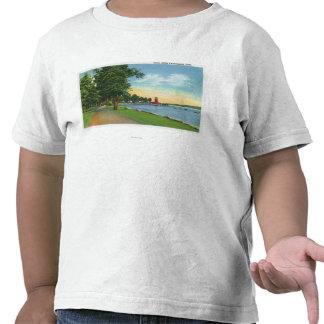 Scenic View along the Lake Tshirts
