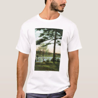 Scenic View at Chestnut Hill Reservoir T-Shirt
