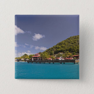 Scenic view of Bitter End Yacht Club Virgin 15 Cm Square Badge