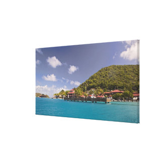 Scenic view of Bitter End Yacht Club Virgin Gallery Wrap Canvas