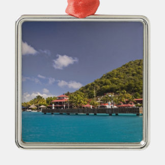 Scenic view of Bitter End Yacht Club Virgin Christmas Ornament