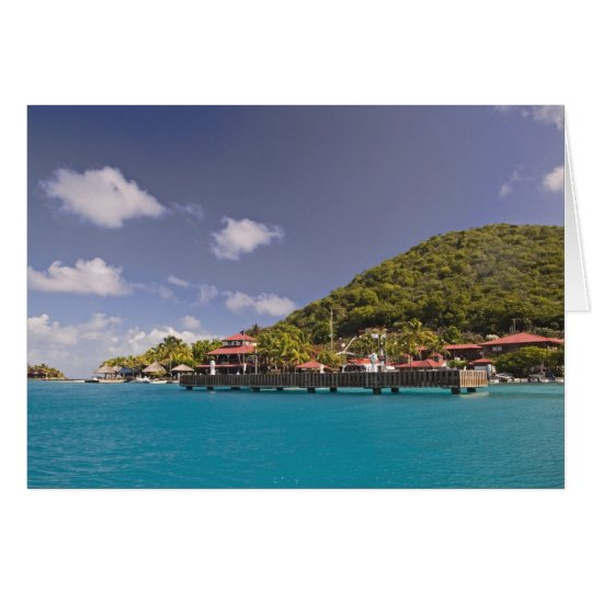 Scenic view of Bitter End Yacht Club Virgin Greeting Card