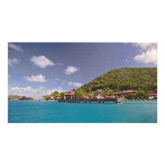 Scenic view of Bitter End Yacht Club Virgin Photographic Print