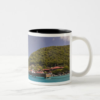 Scenic view of Bitter End Yacht Club Virgin Two-Tone Coffee Mug
