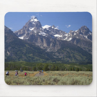 Scenic view of the Teton Range Mouse Mat
