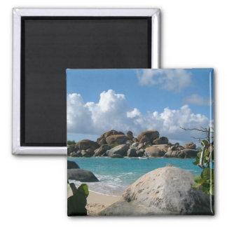 Scenic Virgin Islands Square Magnet