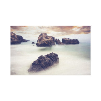 Scenic Water Stretched Canvas