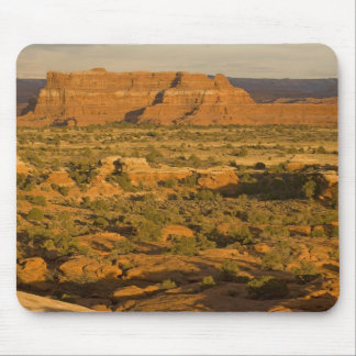 Scenic winter desert landscape on the way into 2 mouse pad