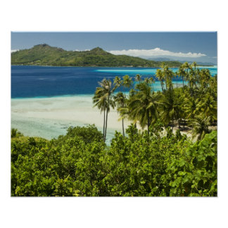 Scenics and grounds of beautiful resort in Bora Posters
