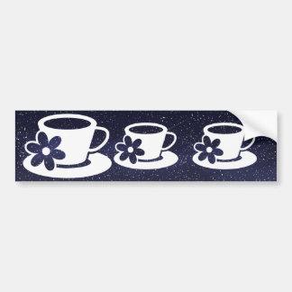 Scents Cups Symbol Bumper Sticker