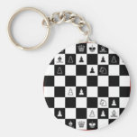 Schachbrett chess board schlüsselanhänger