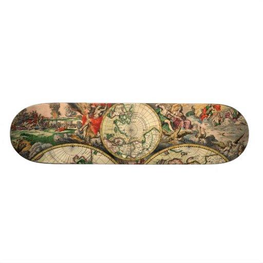 Schagen World (1/3 - Top) Skateboard Decks