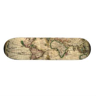 Schagen World (2/3 - Middle) Custom Skateboard