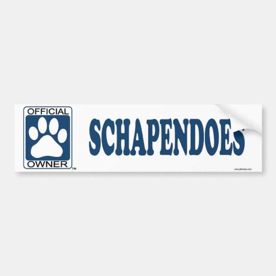 SCHAPENDOES_Blue Bumper Sticker