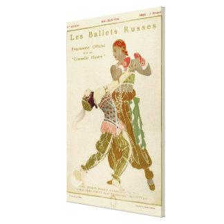 Schéhérazade, Léon Bakst & the Ballets Russes Stretched Canvas Print