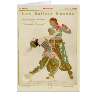 Schéhérazade, Léon Bakst & the Ballets Russes Greeting Card