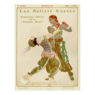 Schéhérazade, Léon Bakst & the Ballets Russes Postcard
