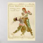 Schéhérazade, Léon Bakst & the Ballets Russes Print