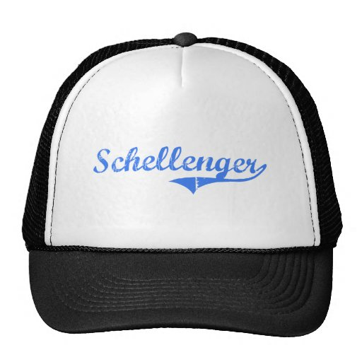 Schellenger New Jersey Classic Design Trucker Hat