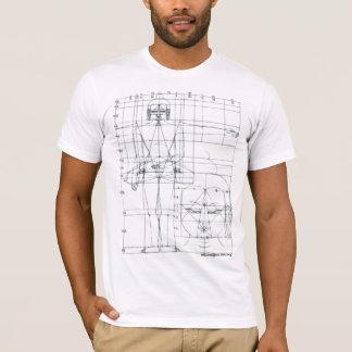schematic buddha T-Shirt