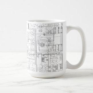 Schematic Diagram Mug