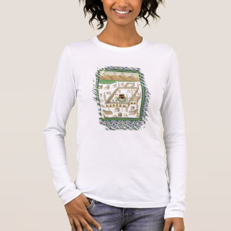 Schematic View of Mecca, showing the Qua'bah, from Long Sleeve T-Shirt