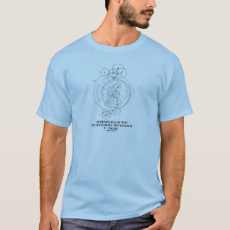 Schematics Of The Antikythera Mechanism (Diagram) T-Shirt