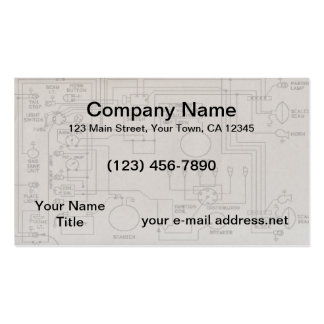 Schematics Pack Of Standard Business Cards