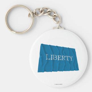 Schenectady Liberty Flag Key Chain