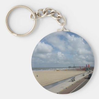 Scheveningen beach key ring
