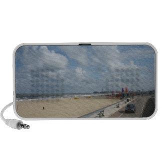 Scheveningen beach mp3 speakers