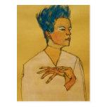 Schiele Art Postcard
