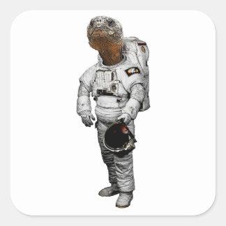 Schildkröte Astronaut Sticker