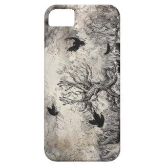 SCHILLEH Dark Tree iPhone 5 Cases