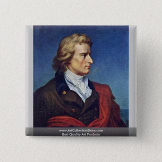 Schiller Died In 1805 15 Cm Square Badge