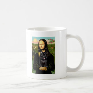Schipperke 7 - Mona Lisa Coffee Mugs