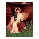 Schipperke 7 - Seated Angel Post Card