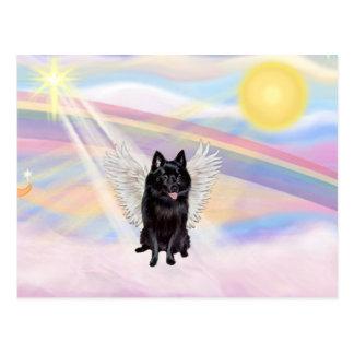Schipperke Angel Postcard