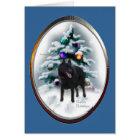 Schipperke Christmas Gifts Card