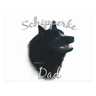 Schipperke Dad 2 Postcard