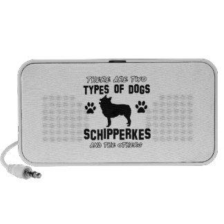 Schipperke dog breed designs mini speaker