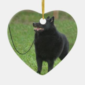 Schipperke Dog Christmas Ornament