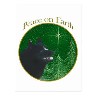 Schipperke Peace Postcard