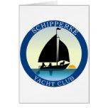 Schipperke Yacht Club Card
