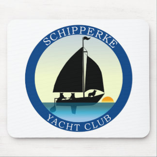 Schipperke Yacht Club Mouse Pad