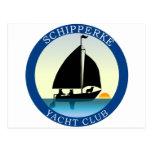 Schipperke Yacht Club Postcard