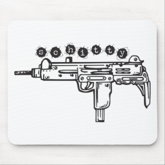 Schitty Machine Gun 2011 Mousepad