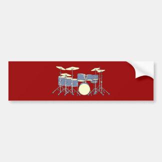 Schlagzeug drum kit auto aufkleber